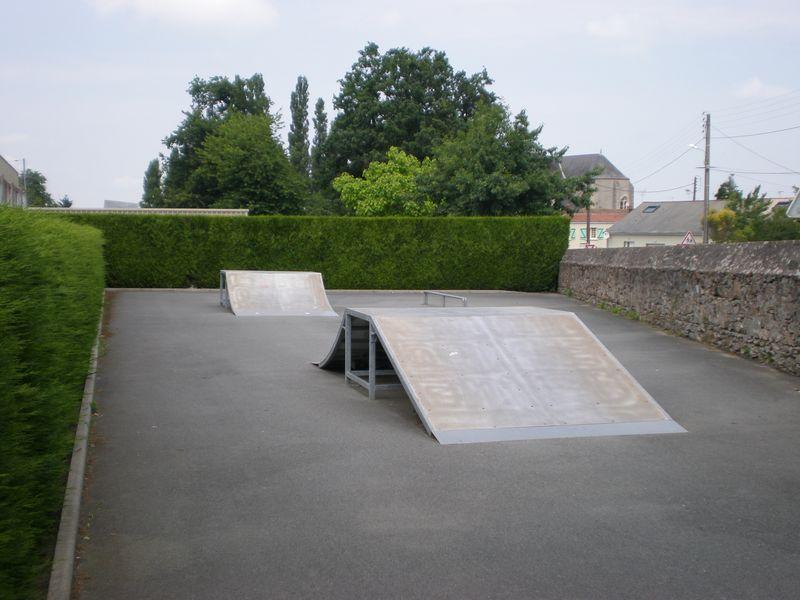 Terrain de skate