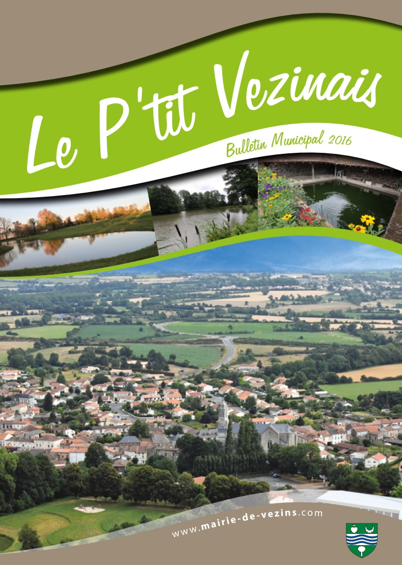 1ère page P'tit Vezinais 2016