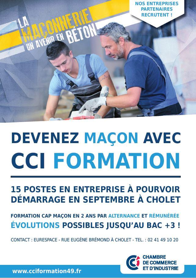 CCI - CAP maçon -Formations