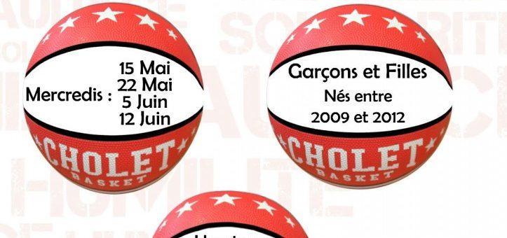 Matinées basket avec Cholet Basket