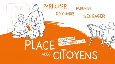 Evénementiels Citoyenneté – «Place aux citoyens»