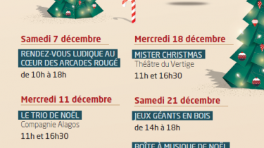 Ludothèque de Cholet – Les animations de Noël