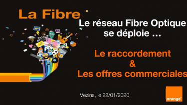 Le réseau fibre optique se déploie