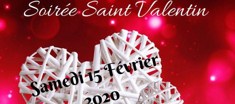 Permanence pour la soirée St Valentin du Comité des Fêtes ce samedi
