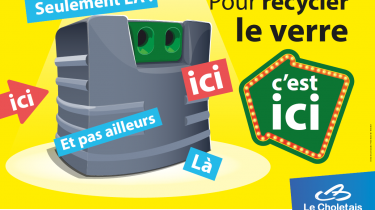 Campagne recyclage du verre