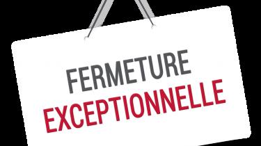 FERMETURE DES BATIMENTS ACCUEILLANT DU PUBLIC