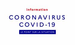CORONAVIRUS – MESURES DE CONFINEMENT ET NOUVELLE ATTESTATION DE DÉPLACEMENT DÉROGATOIRE