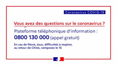 Coronavirus – Les bons gestes à adopter
