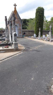 Bénévoles cimetière de Vezins