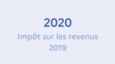 Déclaration des revenus 2020