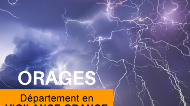 PREF 49 – ALERTE ORANGE ORAGES