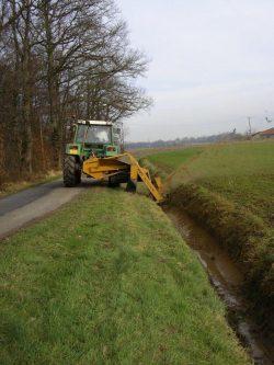 Curage de fossés – RD 147 Trémentines / Vezins
