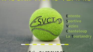 Tennis – Inscriptions saison 2020/2021