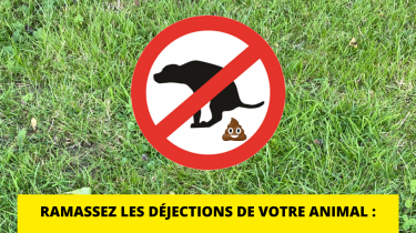Stop aux déjections canines !