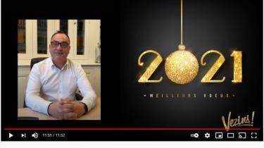 Vidéo – Vœux du Maire 2021