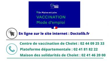 Vaccination dans le Maine-et-Loire