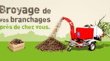 AdC – Nouveau service – Broyage des déchets végétaux