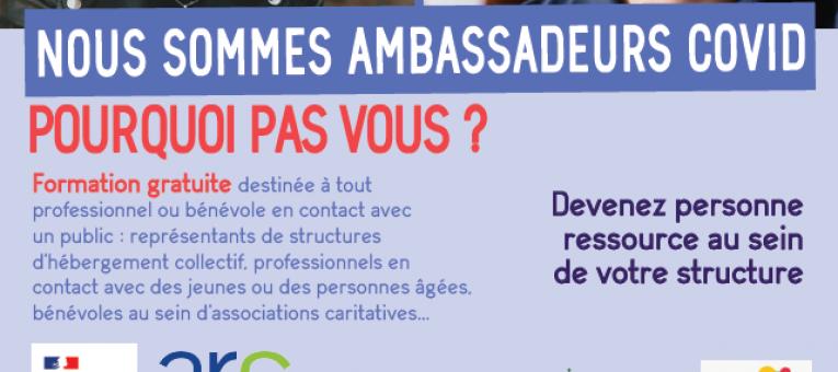 Devenez ambassadeur COVID-19 en Pays de la Loire