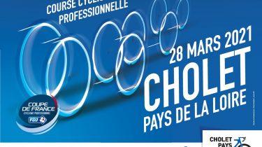 Dimanche 28 mars : Course cycliste Cholet Pays de la Loire