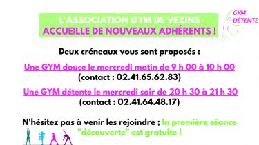 Association – Rejoignez la Gym Détente !