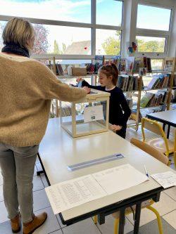 CME – Jour d'élection dans les deux écoles de Vezins